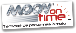 Moov on Time – Transport de personnes  moto
